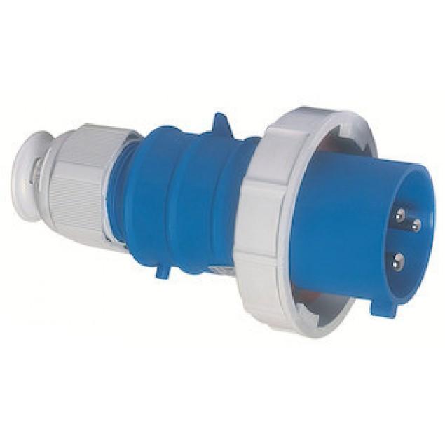 Штекер кабельный прямой 32A 3P 230V IP67