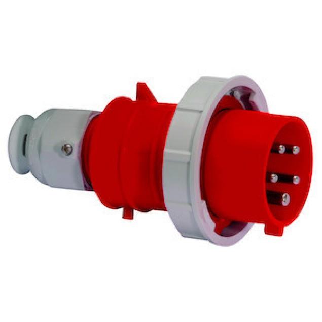 Штекер кабельный прямой 16A 5P 400V IP67