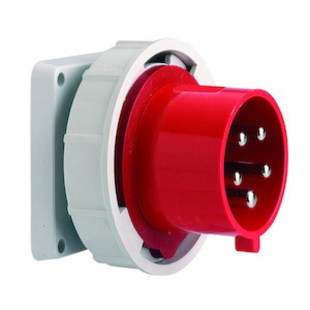 Штекер панельний прямий 32A5P400V IP67