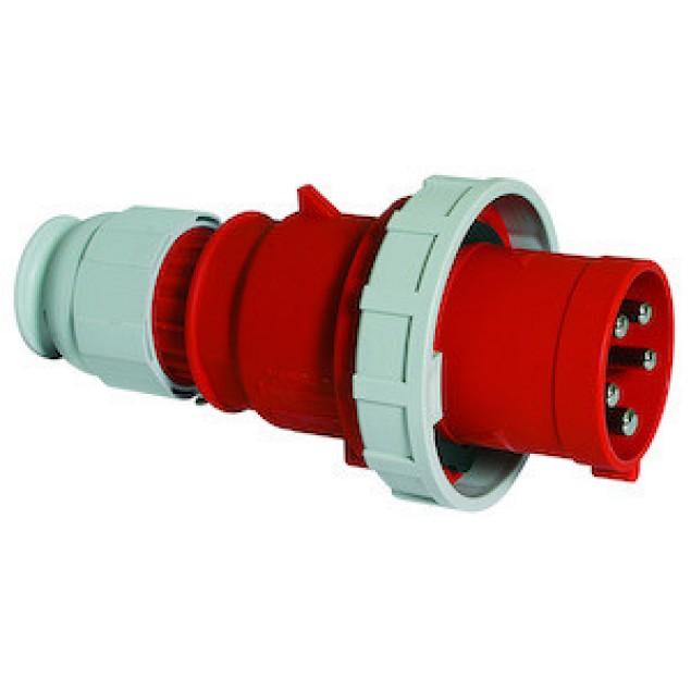 Штекер кабельный прямой 63A 5P 400V IP67