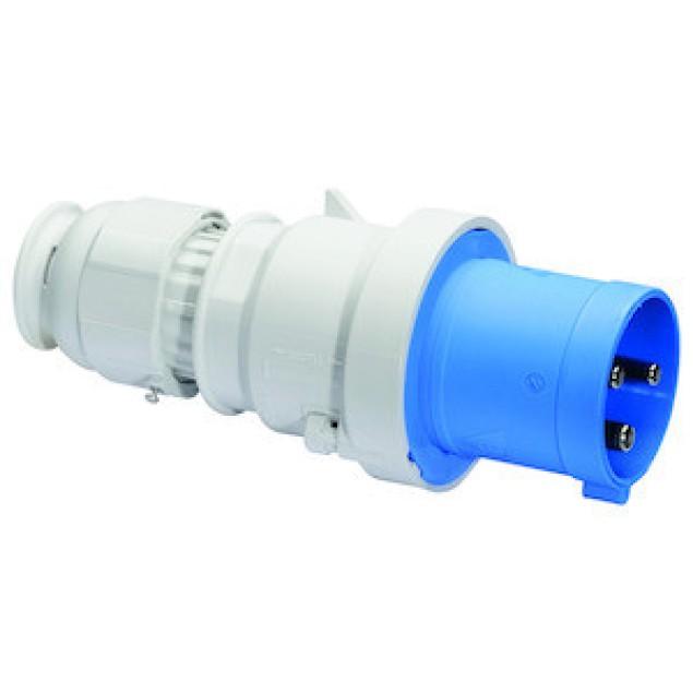 Штекер кабельный прямой 63A 3P 230V IP44