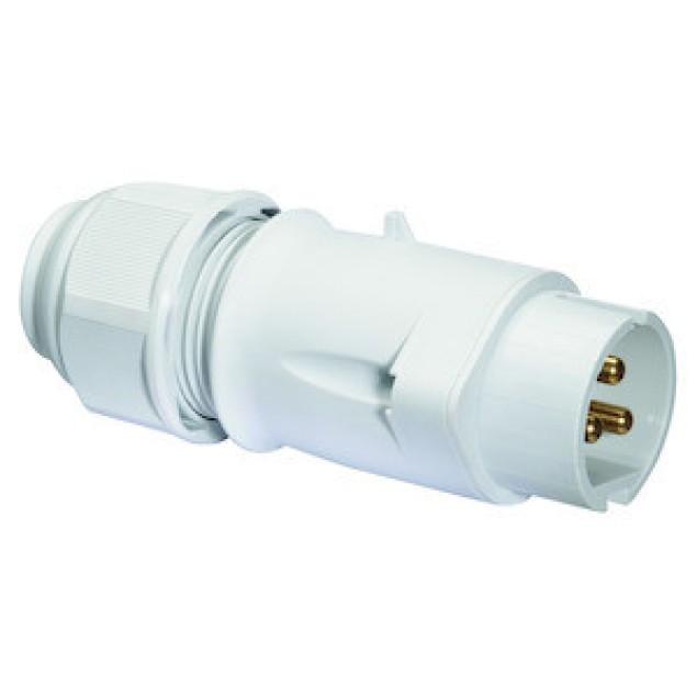 Штекер для низької напруги 32А2P42V IP44