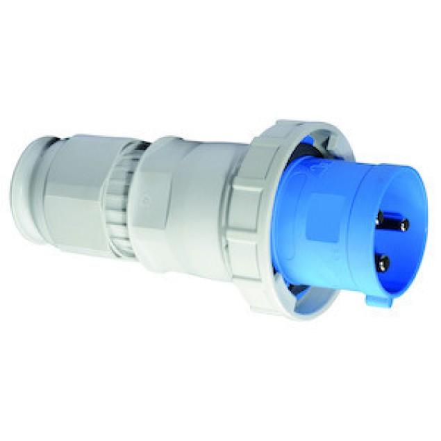 Штекер кабельний прямий 125A3P230V IP67