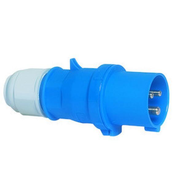 Штекер кабельный прямий 32А3P230V IP44