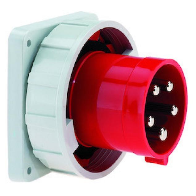 Штекер панельний прямий (120x120) 125А5P400V IP67