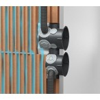 Установчо-ответвительная коробка для кирпичных стен ECON 15