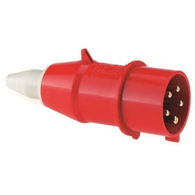 Штекер кабельний прямий 16A5P400V IP44
